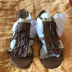 White House Black Market sandals. Brown size 10